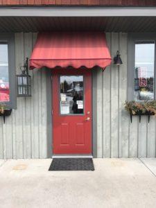 Northspring Mercantile front door, general store