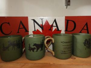 Canada gifts, canada sign, canada mugs
