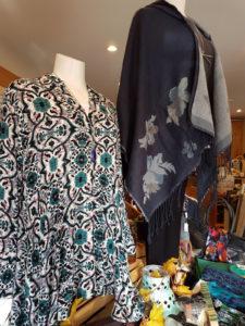 Women's luxury clothing and jewellery