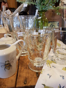 Glassware and fanciful home decor